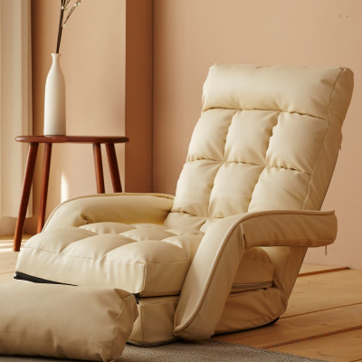 Luca/Pocket Sprung Mattress/Floor Chairs/Single/Sofas/Living Room/Back Cushion/Foldable