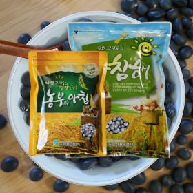 국산 서리태 2kg + 약콩 1kg 속청 2020년산 햇곡
