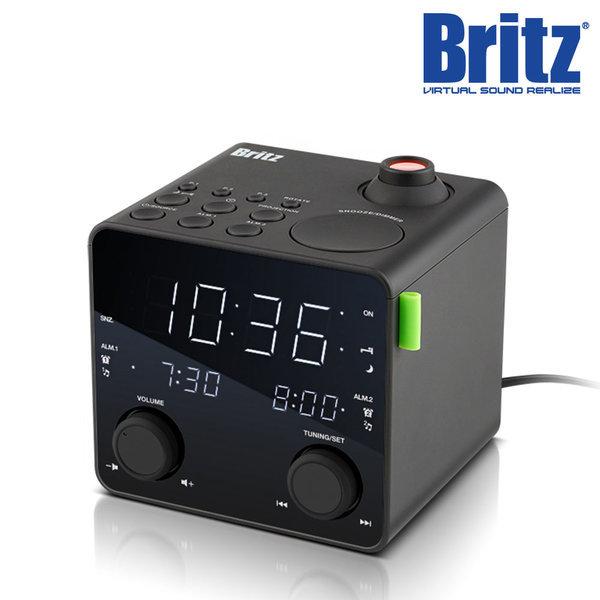 BZ-CR3747P FM라디오 프로젝터 알람 시계 탁상시계. 상품이미지