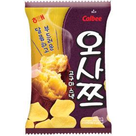해태제과 오사쯔 60g/과자/간식/고구마