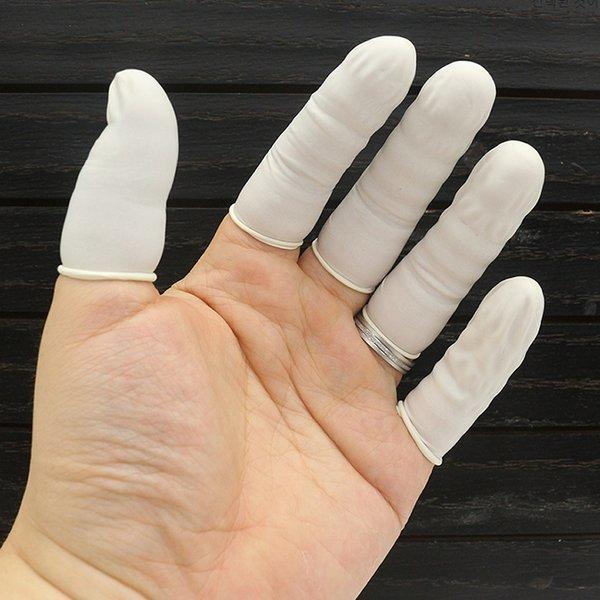 손가락 고무골무 1개-골무 라텍스골무 미끄럼방지골무 상품이미지