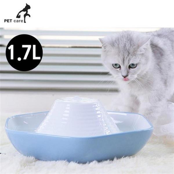 파라곤 세라믹 애완정수기 1.7L 블루.화이트 상품이미지