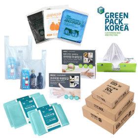 쓰레기봉투 분리수거 비닐봉투 비닐장갑 모음전