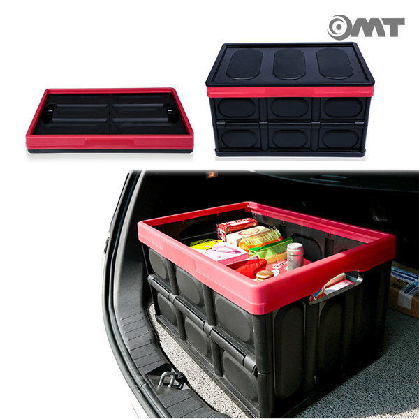 56L 대용량 접이식 차량용 트렁크정리함 OCA-FOLD 블랙 상품이미지