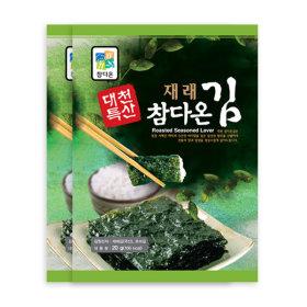 대천참다온김/프리미엄 김세트2호(전장김20봉) 6월생산