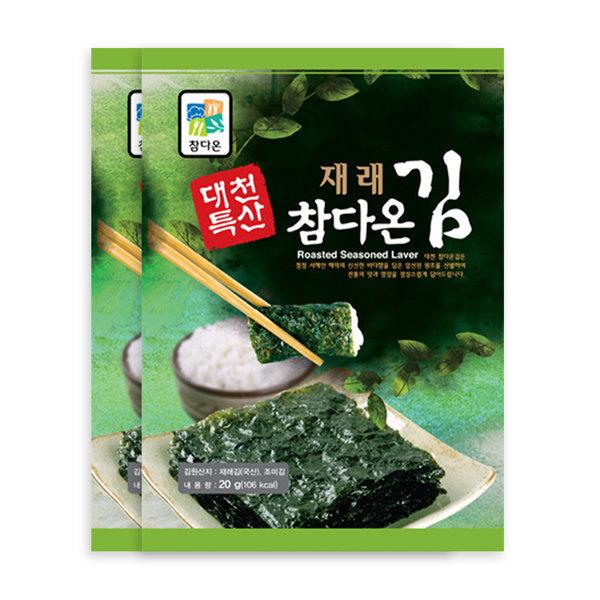 대천참다온김/프리미엄 김세트2호(전장김20봉) 상품이미지