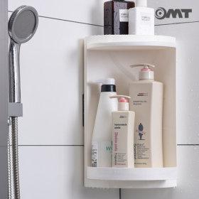 OMT 욕실 코너 수납 선반 회전식 수납장 OB-YS01