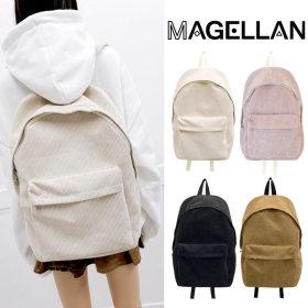 Corduroy/Backpack/Corduroy/Fabric/Afterschool/Bag