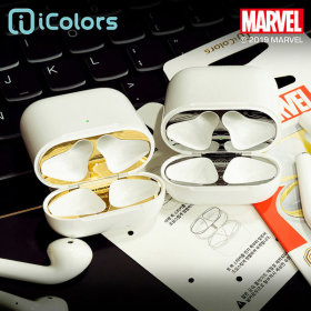MARVEL/Airpods/Official Product/Prevention/Sticker/Iron Man