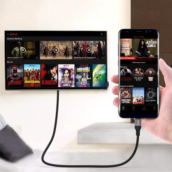 드로우N C타입 to HDMI 넷플릭스 hdcp 지원 미러링 케 상품이미지