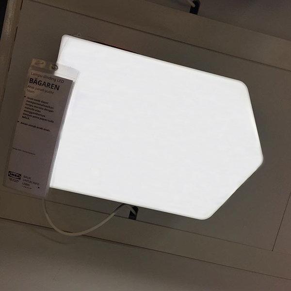 이케아 BAGAREN 베가렌 LED벽부착등/스탠드 상품이미지