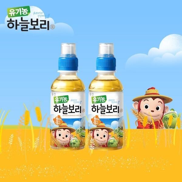 웅진식품 코코몽 유기농하늘보리 200mlx12 상품이미지