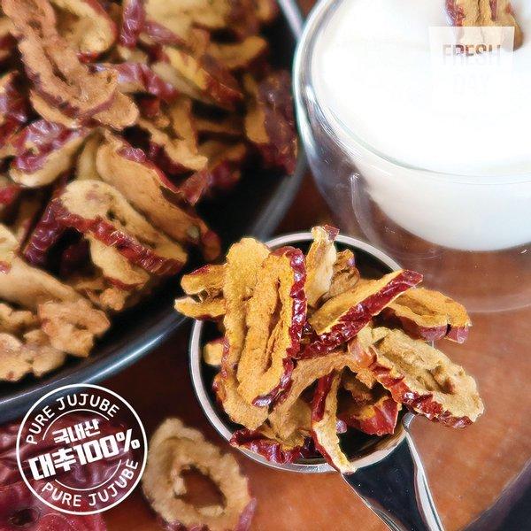 대추가통째로 바삭달콤 과일칩 생생대추칩 30봉 (40g/봉) 상품이미지