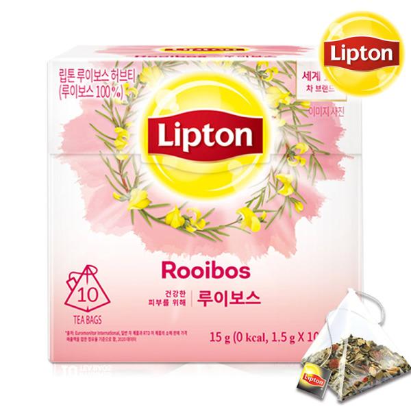 립톤 루이보스티 10T /루이보스차/허브티/꽃잎차 상품이미지