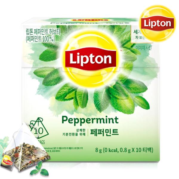 립톤 페퍼민트티 10T /민트차/허브티/박하차 상품이미지