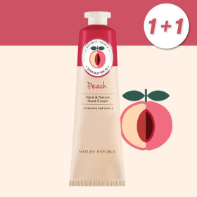 1+1 Hand n Nature Peach Hand Cream/Large/For Gift