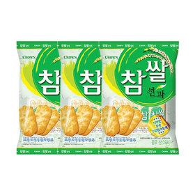 크라운 참쌀선과 253g 3봉지/쌀과자/간식/사무실