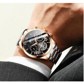 남자 남성 손목 시계 오토매틱 명품 고급 메탈  H8509