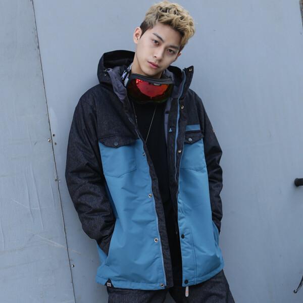 (현대백화점)라시엘로 LAZ-818-BLUE 남여공용 스키복 보드복 점퍼 자켓 상품이미지