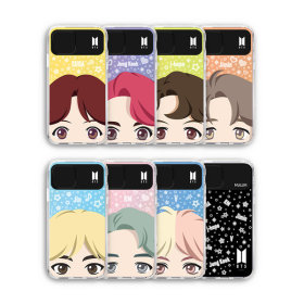 BTS FULL FACE LIGHT UP CASE / BTS 풀 페이스 케이스