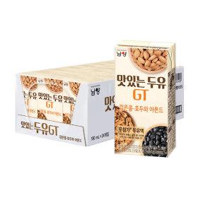 맛있는두유GT 검은콩+호두와 아몬드 24팩