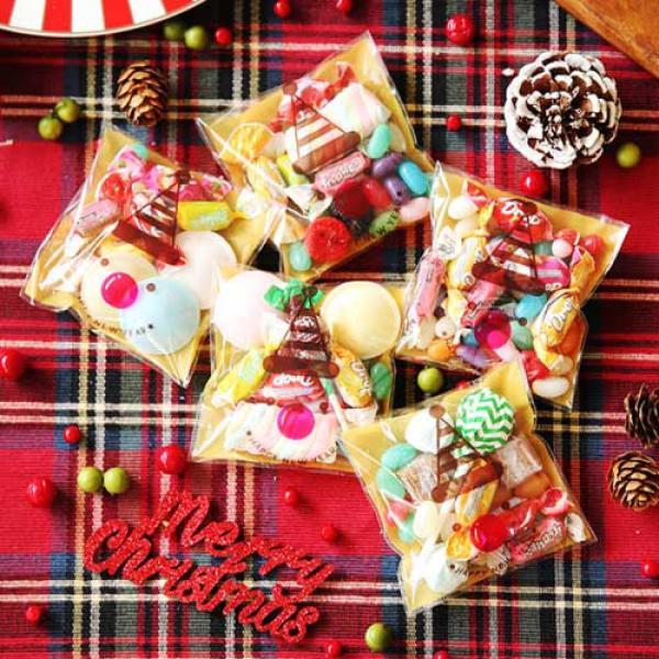 크리스마스 선물 포장지 (30개입) 눈사람(바보사랑) 상품이미지
