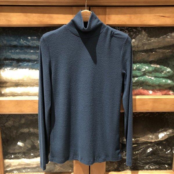 (대구신세계)(러브앤쇼) 기본 기모 골지 폴라 티셔츠 LBJLGTS04 블루 상품이미지