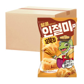 오리온 꼬북칩 달콩 인절미 80g 12개