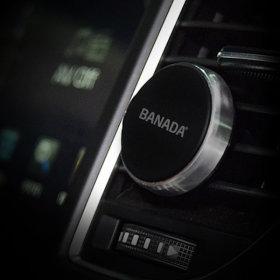 바나다 송풍구 마그네틱 차량용 핸드폰 거치대