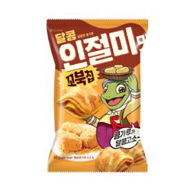 오리온 꼬북칩 달콩인절미 80g