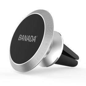바나다 차량용 디럭스 송풍구 마그네틱 거치대 실버