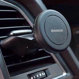 바나다 차량용 멀티 CD슬롯 송풍구 마그네틱 거치대