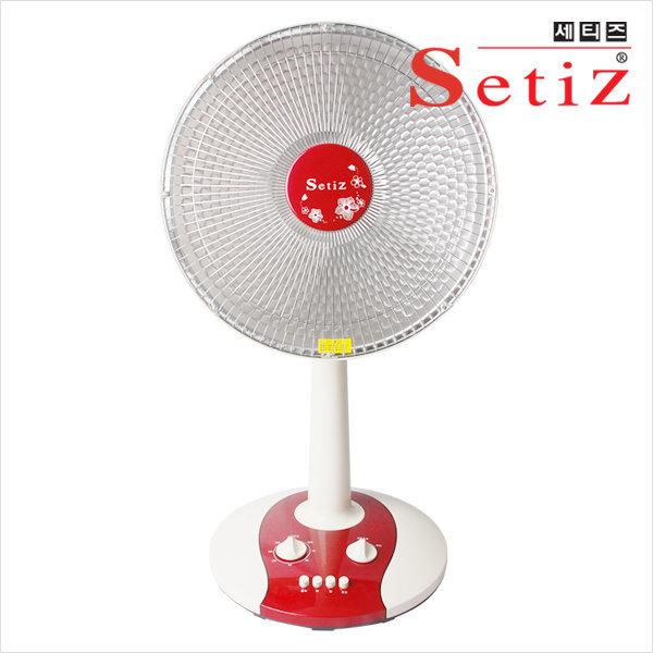 싸파 세티즈 선풍기형 히터  SPH-105 코일방식/SPH-102 할로겐방식 /높낮이조절/타이머기능/강약조절 상품이미지