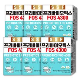 프리바이오틱스 FOS4300 6박스(180포) 아연