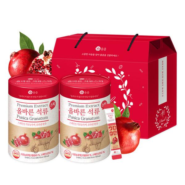 (현대Hmall) 올즙  올바른 석류스틱 50 x 2박스(선물세트) 상품이미지