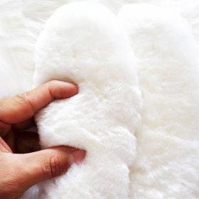 플러스 천연 양털 양모깔창 털깔창 방한겨울인솔