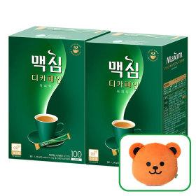 맥심 디카페인 커피믹스 100T+100T