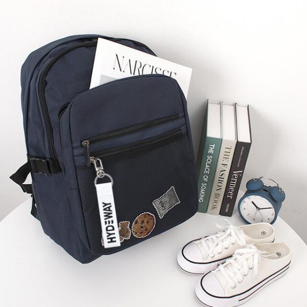 캐럿백팩 신학기가방 여행가방 캐주얼백팩 키홀더증정 상품이미지