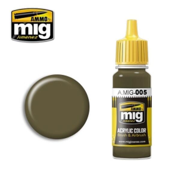 (현대Hmall) MIG AMMO 미그 아머 CG0005 RAL 7008 GRAUGRUN 상품이미지