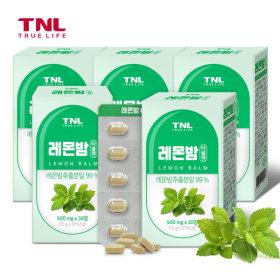 TNL 레몬밤 타블렛 30정 5박스 (총 5개월분)