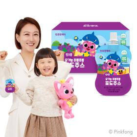 초롱초롱 어린이 블루베리즙 40ml 30팩 2박스+4팩증정