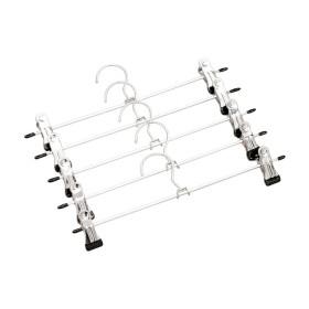 옷걸이 치마걸이 바지걸이 집게옷걸이(블랙 20개묶음)
