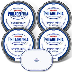 크림치즈 플레인 200gx4개 /99%자연치즈/냉장보관
