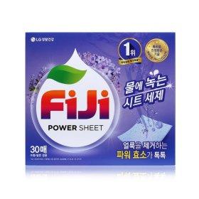 FiJi 파워시트 세탁세제 라벤더 30매 2팩