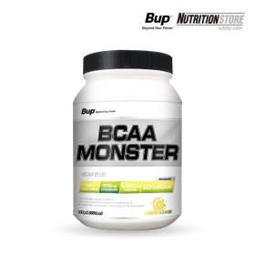 BCAA 몬스터 레몬맛 500g 1통 아미노산 보충제