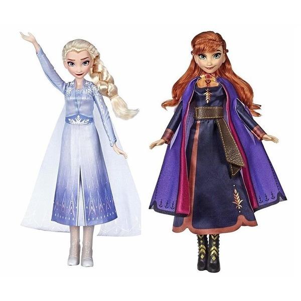 겨울왕국2 노래하는 엘사안나 자매 인형 2개 세트 상품이미지
