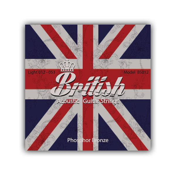 브리티시 기타스트링 통기타줄 세트 BS012 (012-053) 상품이미지