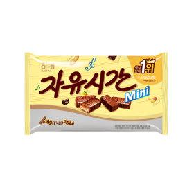 자유시간 미니바 630g  1봉