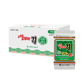소문난오부자 파래도시락김5g 72봉 최근생산 본사직송