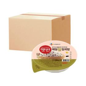 햇반 매일찰잡곡밥 210g 24개 (유통기한 임박상품)